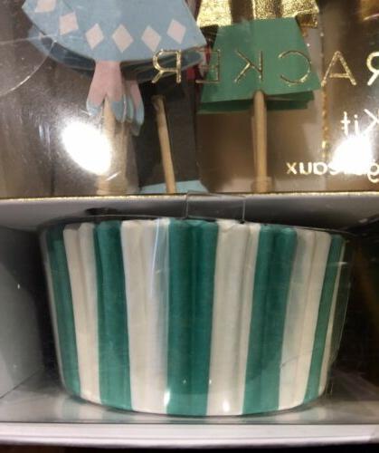 MERI Cupcake Kit THE NUTCRACKER Toppers Makes 24 Cupcakes NIB