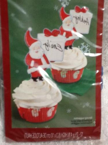 Wilton cupcake Toppers Names NEW