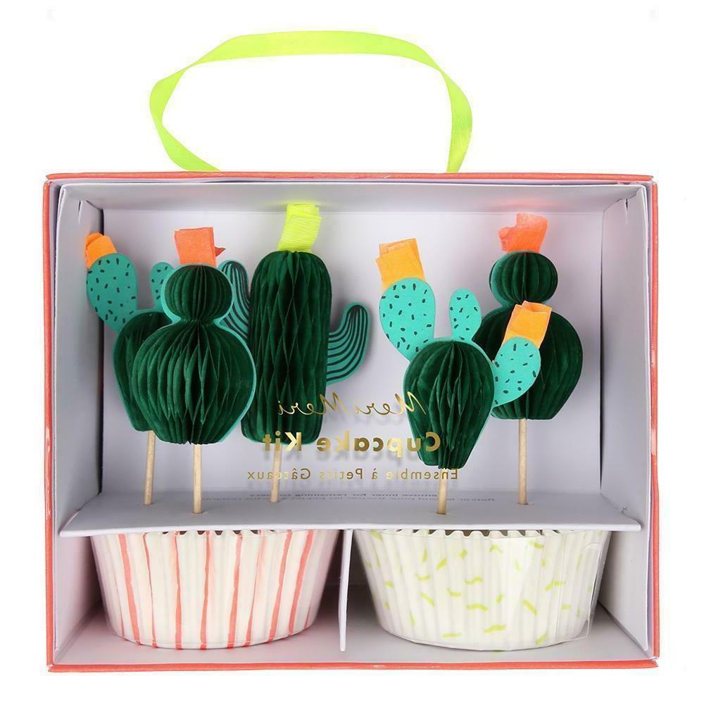 cute cactus cupcake kit inc 24 baking