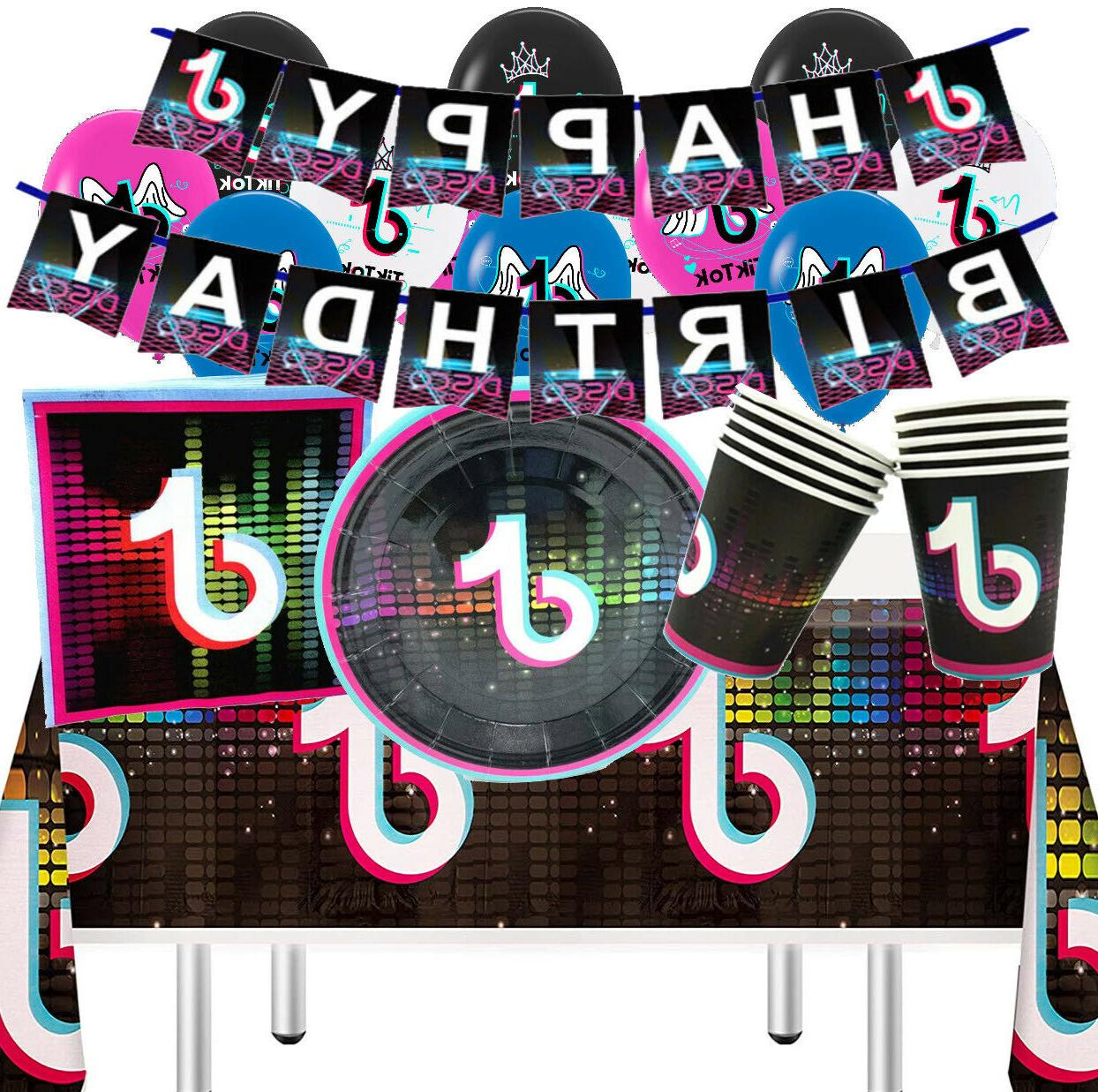 dance CUPcake TABLE COVER