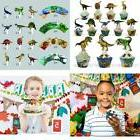 Beegreen Dinosaur Party Supplies Cupcake Toppers And Wrapper