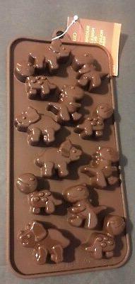 Dinosaurs Silicone Candy chocolates ice MINI Mold cupcake to