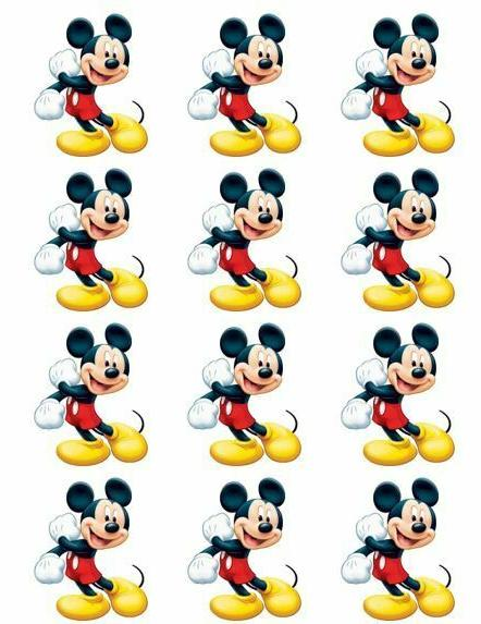 disney cake toppers mickey mouse cupcake toppers