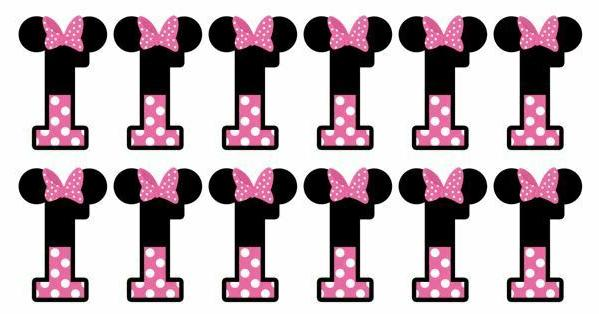disney minnie mouse cupcake toppers edible image