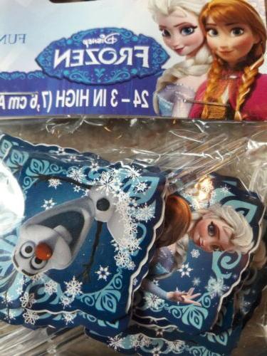Disney's Frozen Toppers; Birthday Cupcakes;