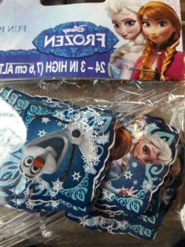 disney s frozen cupcake toppers birthday cupcakes