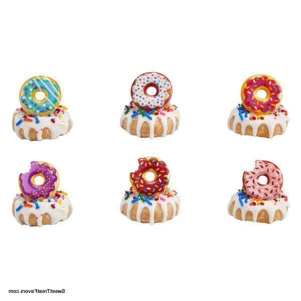 DONUTS Shop CupCake Cake Topper 12 18 24 Decoration Birthday
