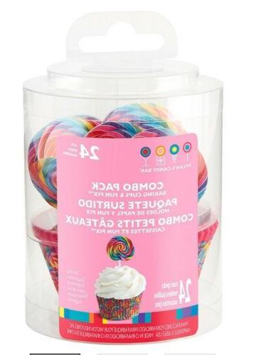 Dylan's Swirl Cupcake & Fun Pack