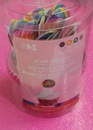 Dylan's Candy Swirl Cupcake Fun Combo Pack