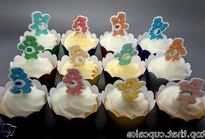 EDIBLE Card Cupcake Cake Toppers