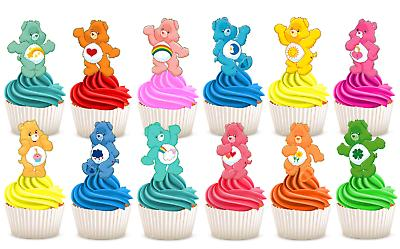 edible care bears wafer card sheet stand