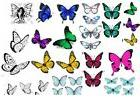 EDIBLE IMAGE~15 to choose from!!~BUTTERFLIES~12-40 PER SHEET