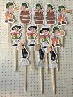 El Chavo Del 8 Ocho Party Set Of 12 Cupcake Toppers