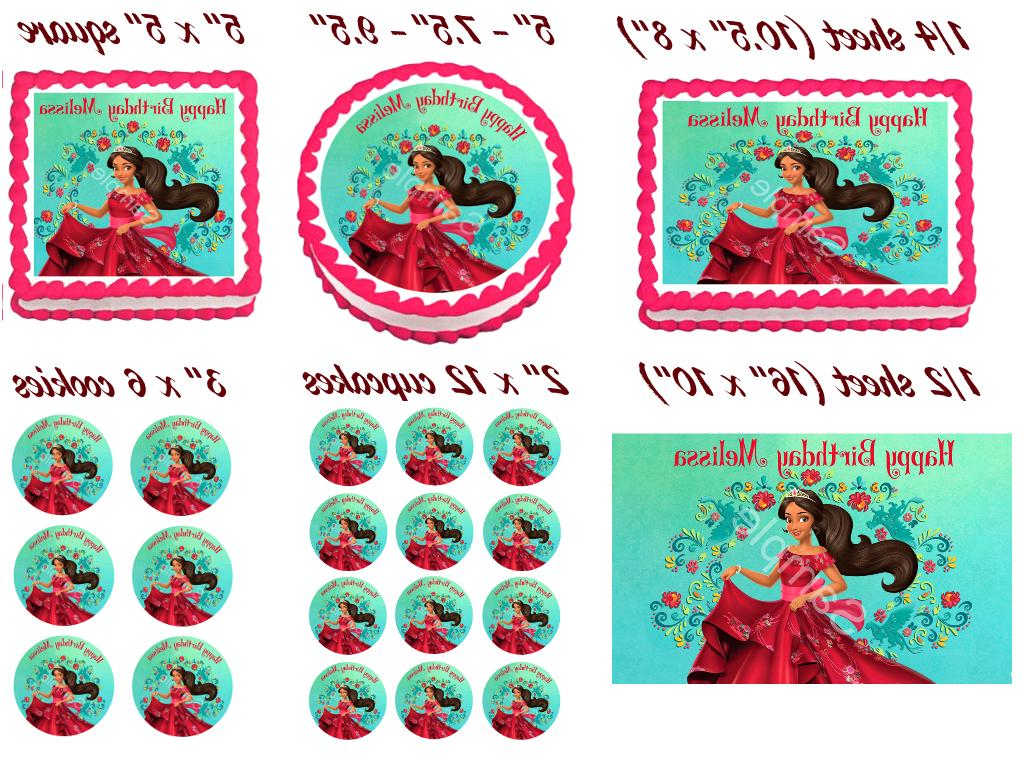 ELENA OF AVALOR Cake Party decoration