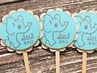 Elephant Cupcake Toppers Food Picks Bakery Dessert Cake Top