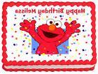 ELMO Birthday Image Edible Cake topper design