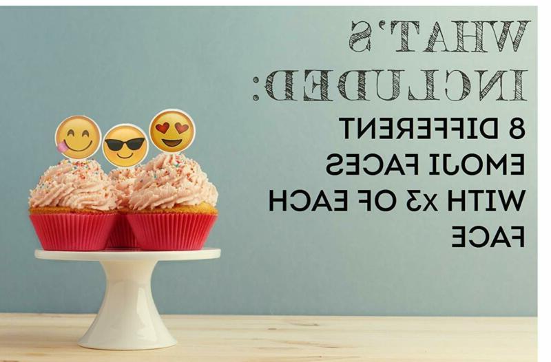 Limitless Emoji Cupcake 24-Pack
