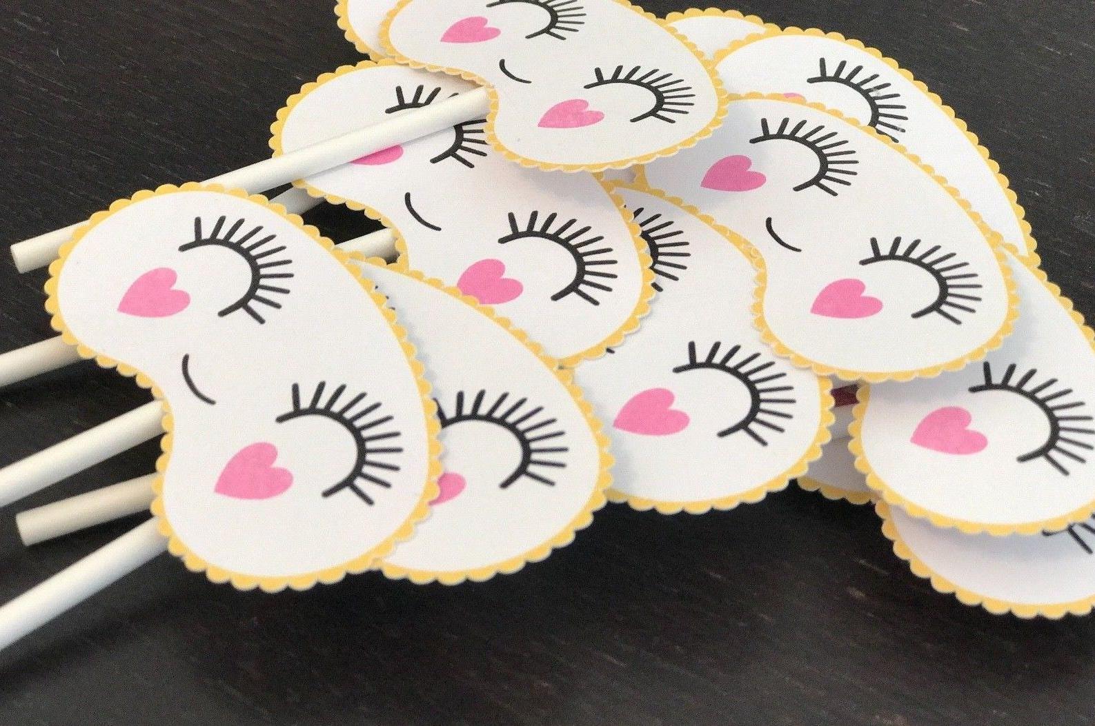 Emoji Cupcake Toppers - Camping Cupcake - Glamping Cupcake -