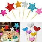 EVA+Wood Cake Topper Birthday Party Cupcake Food Picks Toppe