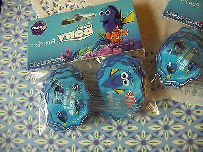 Finding Dory Picks Wilton,24ct .2113-9367 Disney Pix Lot of bags