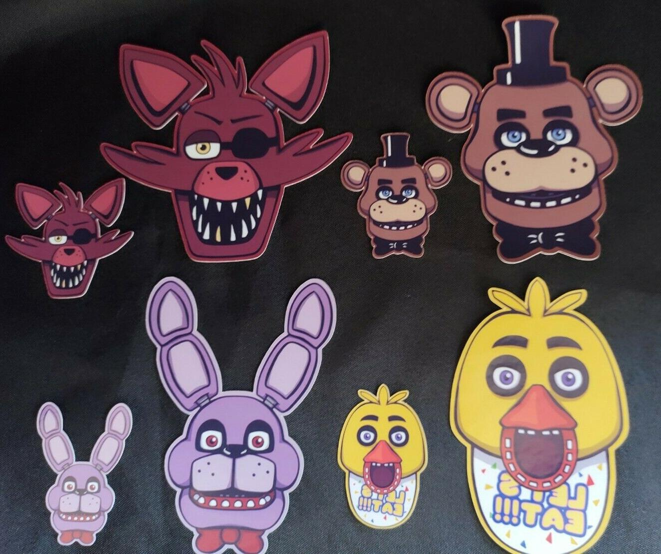 five nights at freddy s fnaf stickers