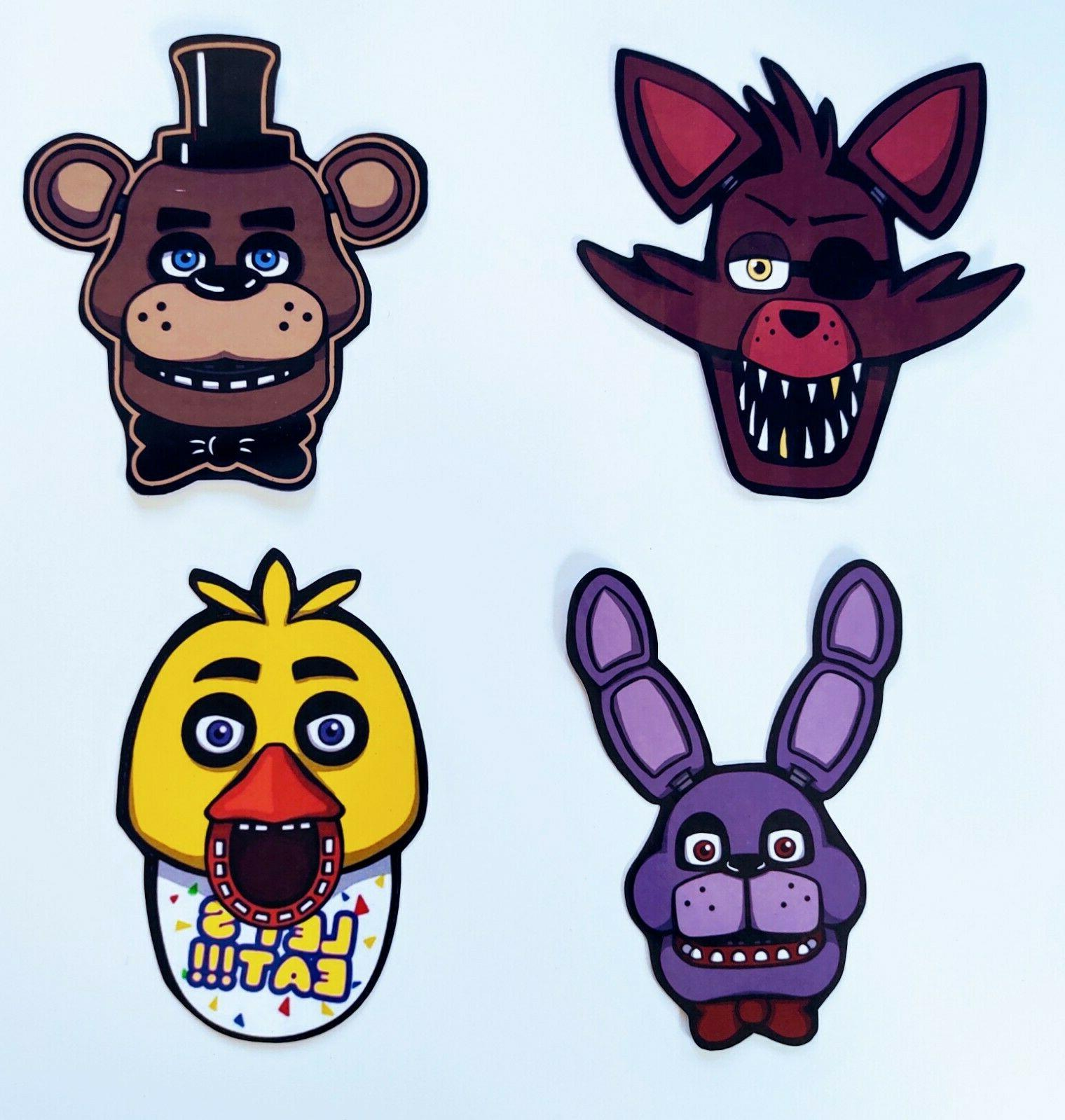 five nights at freddy s stickers
