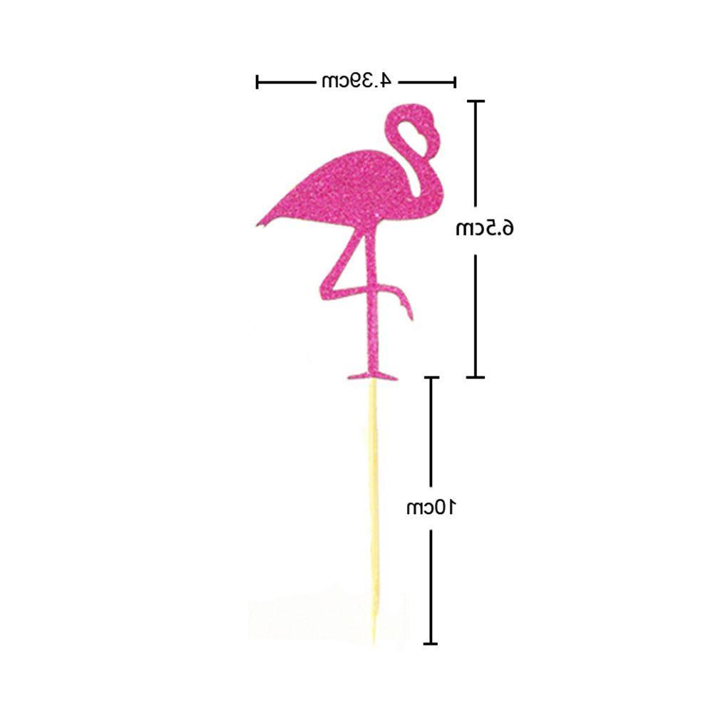 Flamingo Toppers Wedding