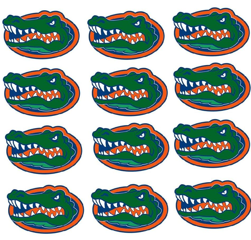 florida gators cupcake toppers edible image college