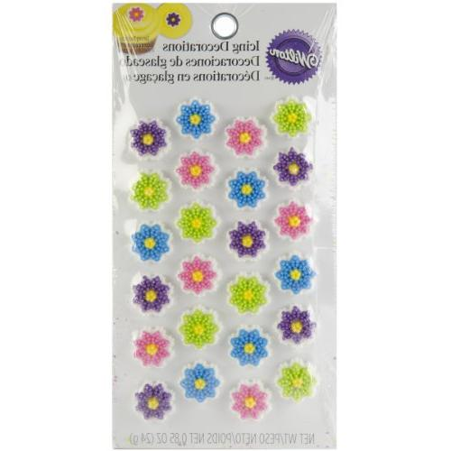 flower cookie decorations