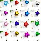 Foil Balloon Cake Topper Star Heart Happy Birthday Party Wed