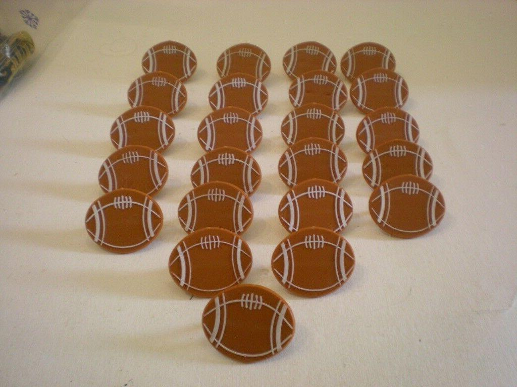 football cupcake ring toppers