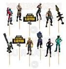 Fornite Cupcake Toppers 12 or 24 pc ~ Fortnite Balloons Part