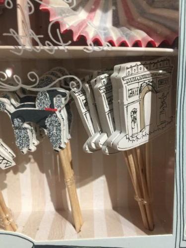 Meri Meri Cupcake Toppers Paris 24