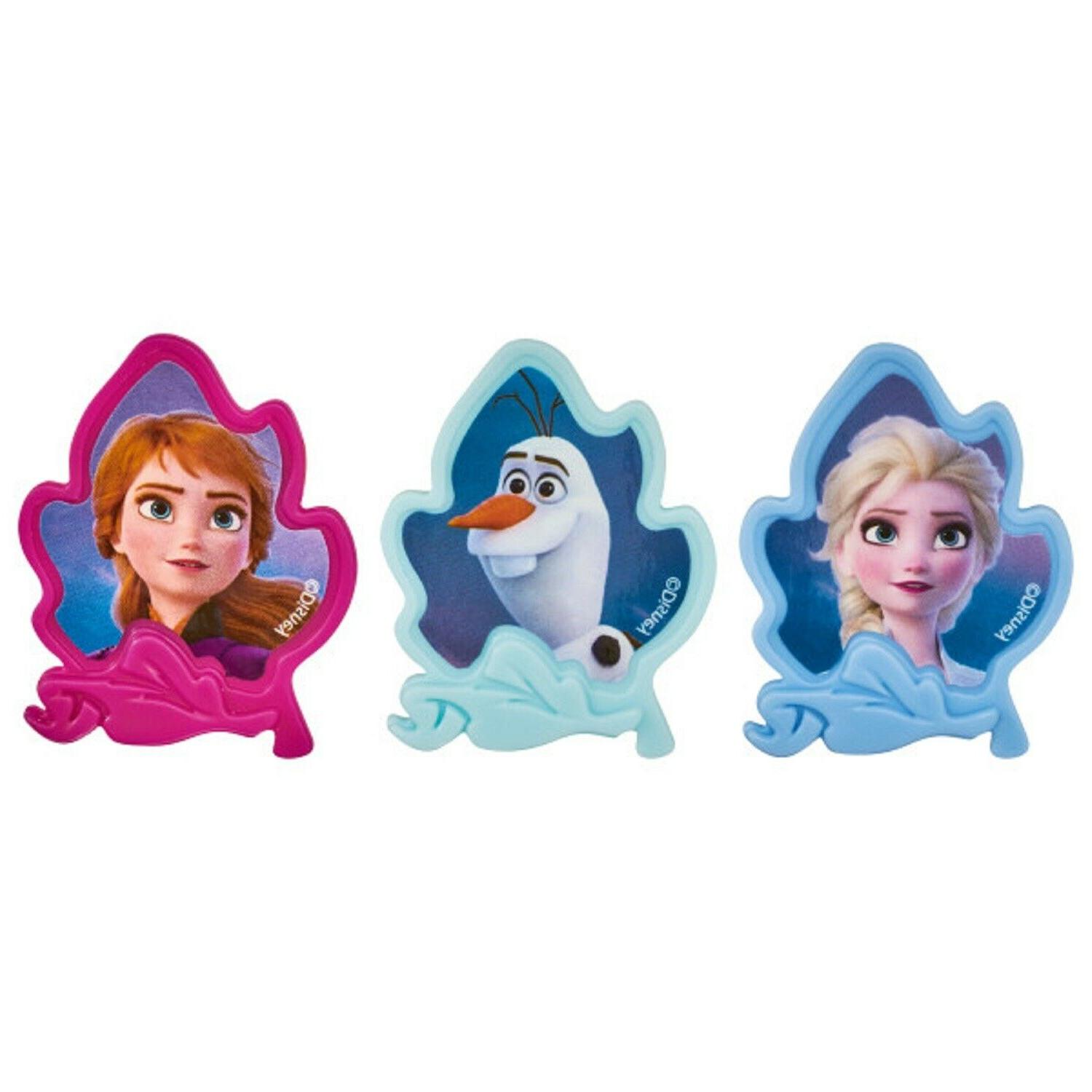Frozen Toppers Party Supplies Cake - Set 30