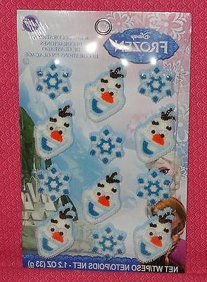 frozen disney olaf edible cupcake toppers decorations