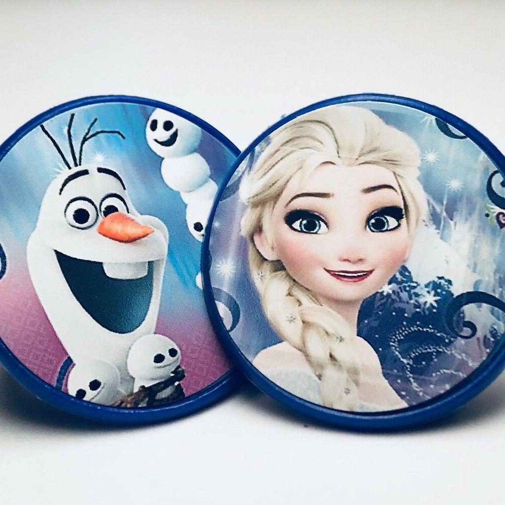 frozen olaf and elsa cupcake toppers rings