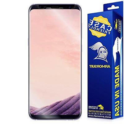 galaxy s8 plus screen protector case friendly
