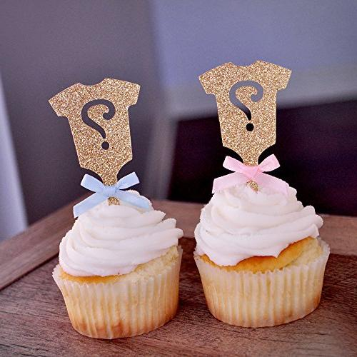 gender reveal party decor gold