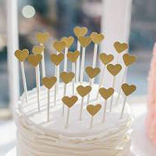 Glitter Toppers Gold Party Decorations Shower | | Engagement | Day | Decorations 50