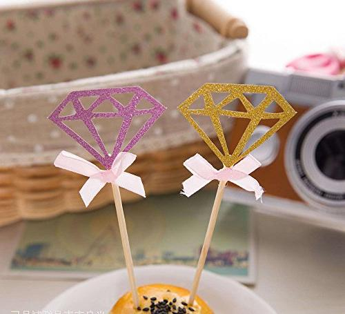 AimtoHome Cupcake Toppers for Birthday Table Pack of 50