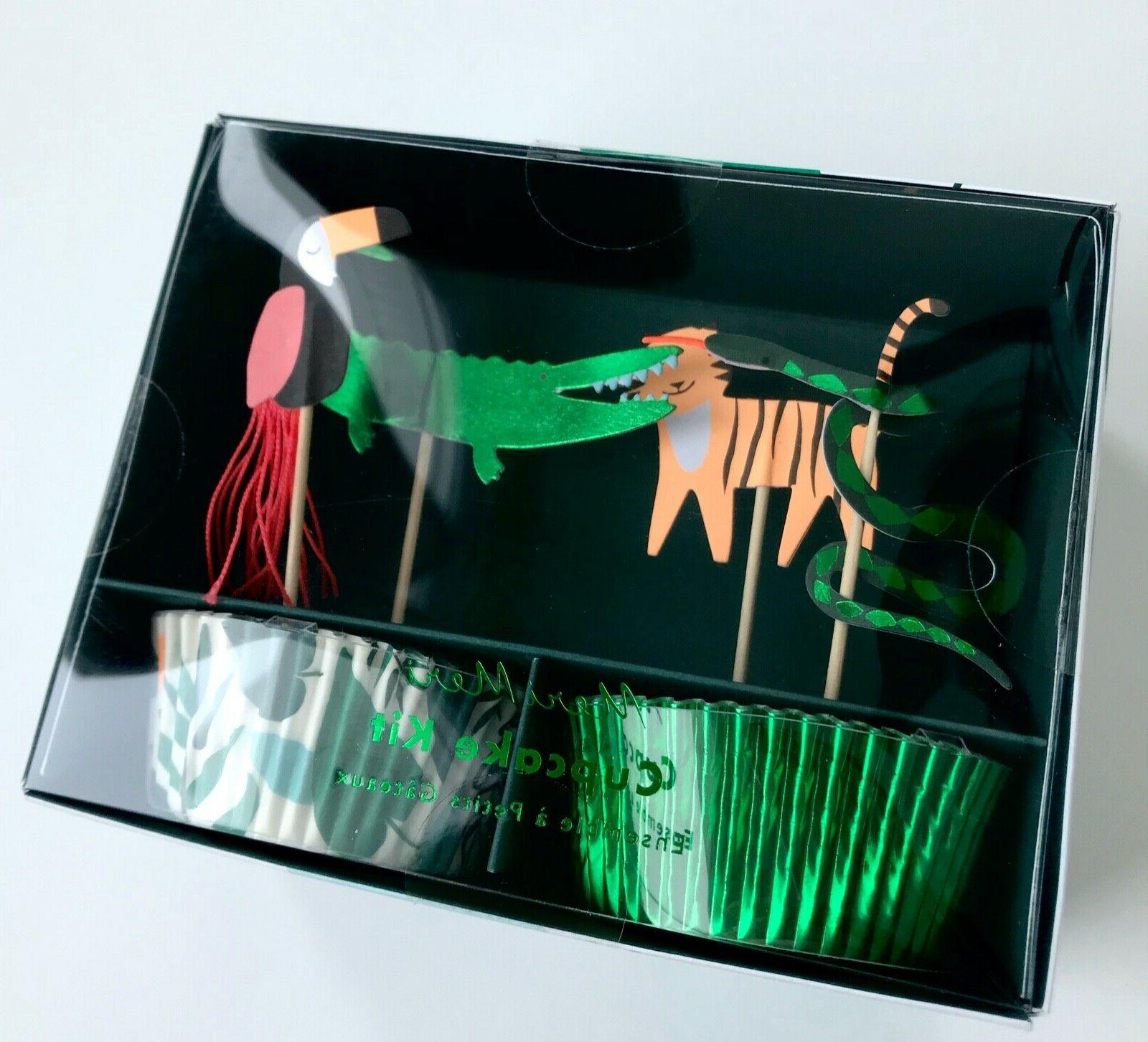 Meri Meri Jungle Cupcake Kit