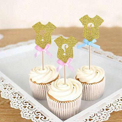 Golden Gender Cupcake Baby