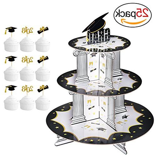 graduation cupcake holder bonus picks