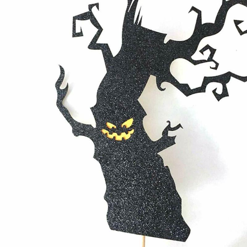 Halloween Cupcake Toppers Topper Decoration Themed Baking Supplies US
