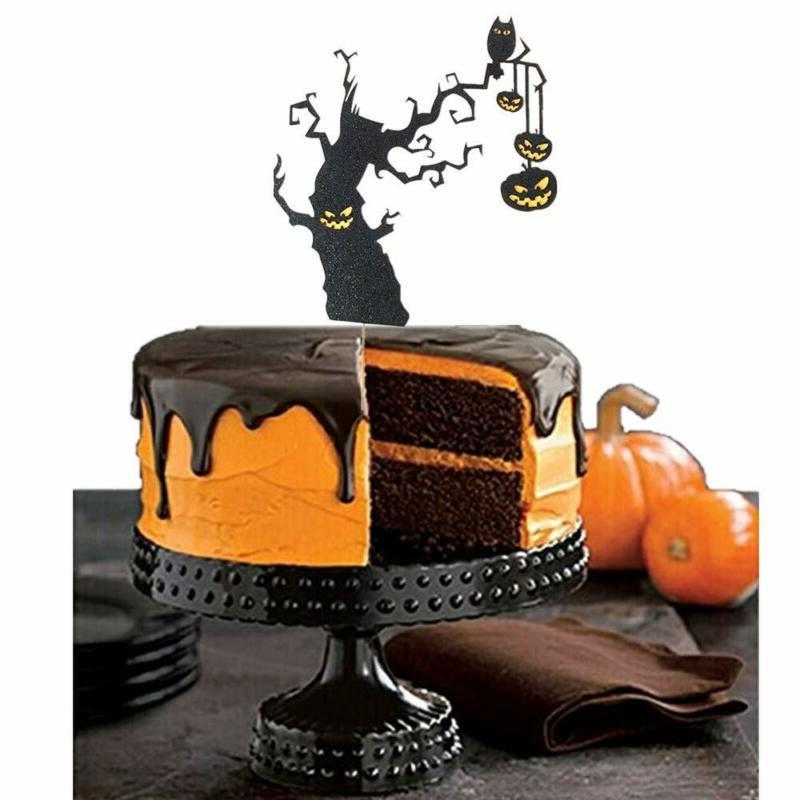 Halloween Cupcake Cake Topper Decoration Baking