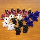 halloween cupcake toppers rings 24 pack assorted