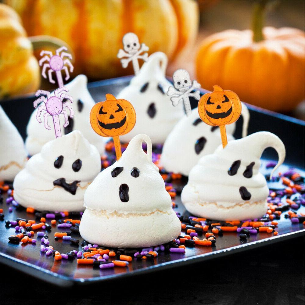 Halloween Set 72pcs Cupcake Toppers, Cupcake Cupcake