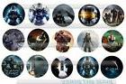 Halo Video Game xbox play station 15 Precut Bottle Cap Image