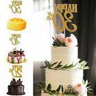 happy 30 40 50 60th wedding cupcake