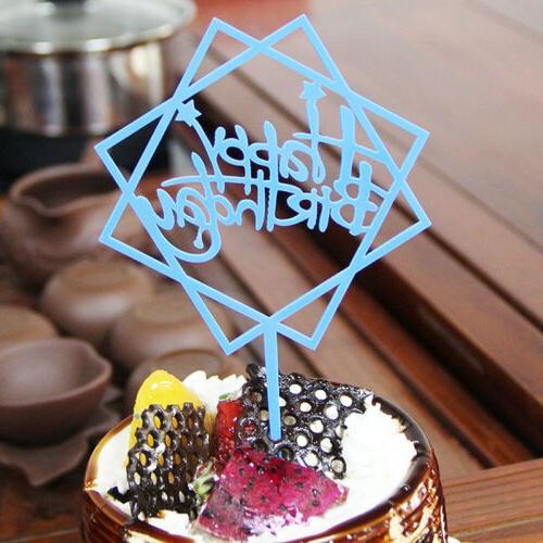 Happy Birthday Crown Acrylic